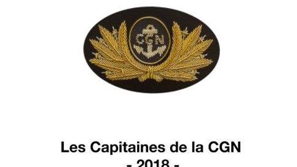 Les Capitaines de la CGN_2018