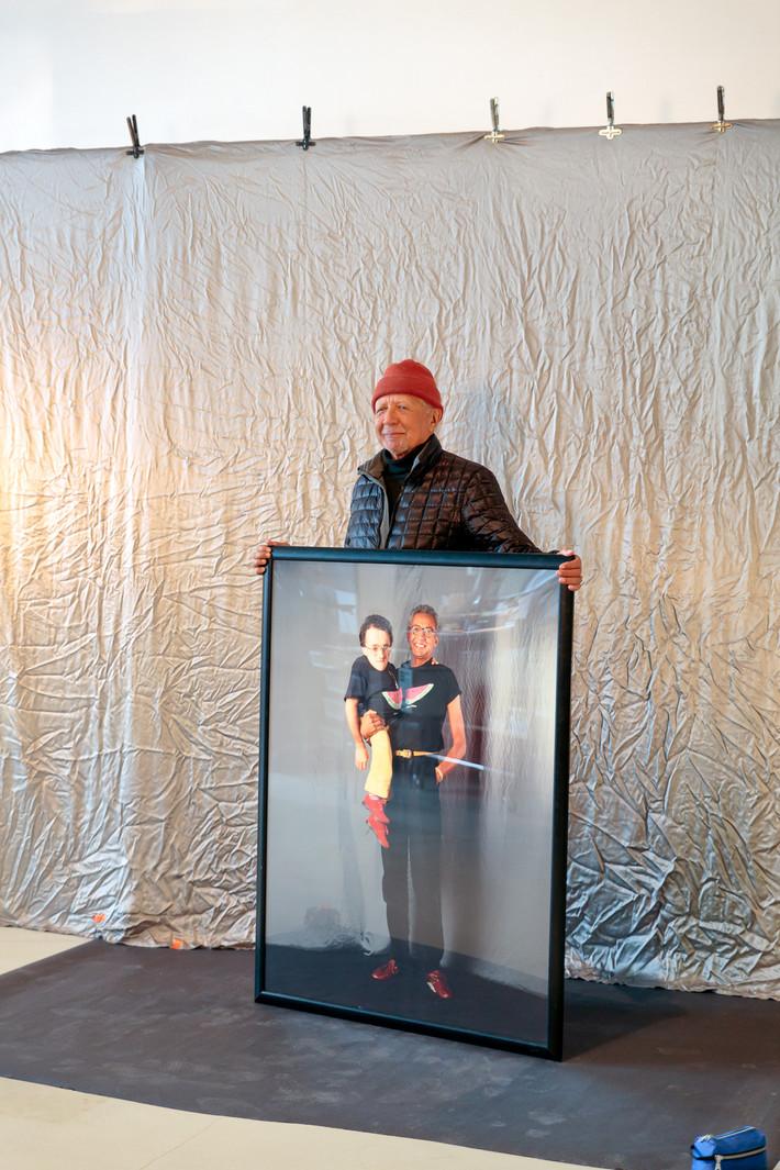 Charles Lloyd visite au Studio
