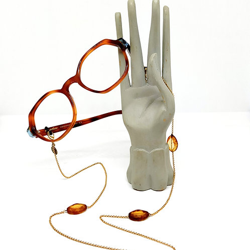 Bijou à lunettes et sautoir MILANO