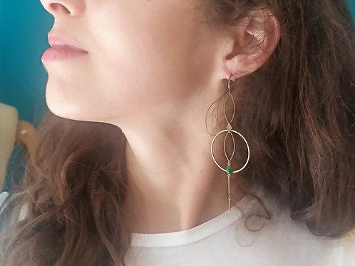 Boucles d'oreilles GLORIA - Nouveauté série limitée