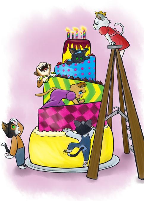 Birthday Kittens
