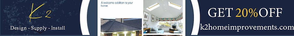 Conservatory new roof ad