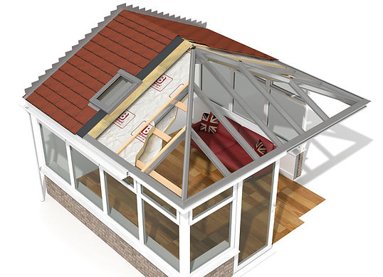 New conservatory roof design