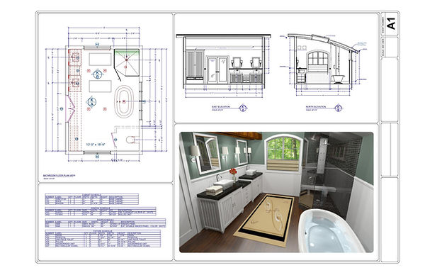 Bathroom - Design - 3D