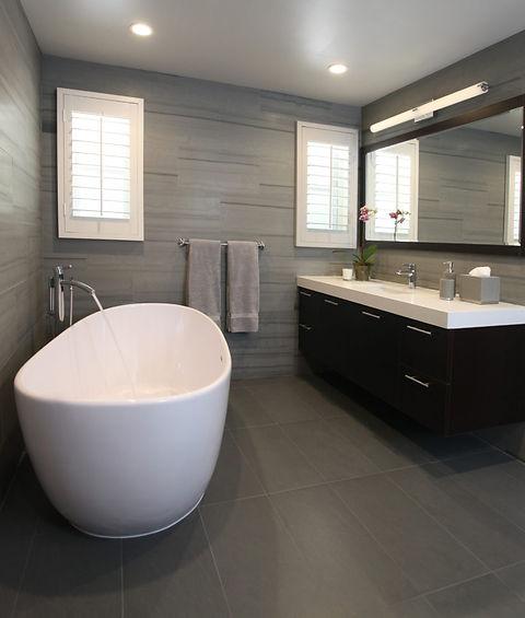 New bathroom cladding
