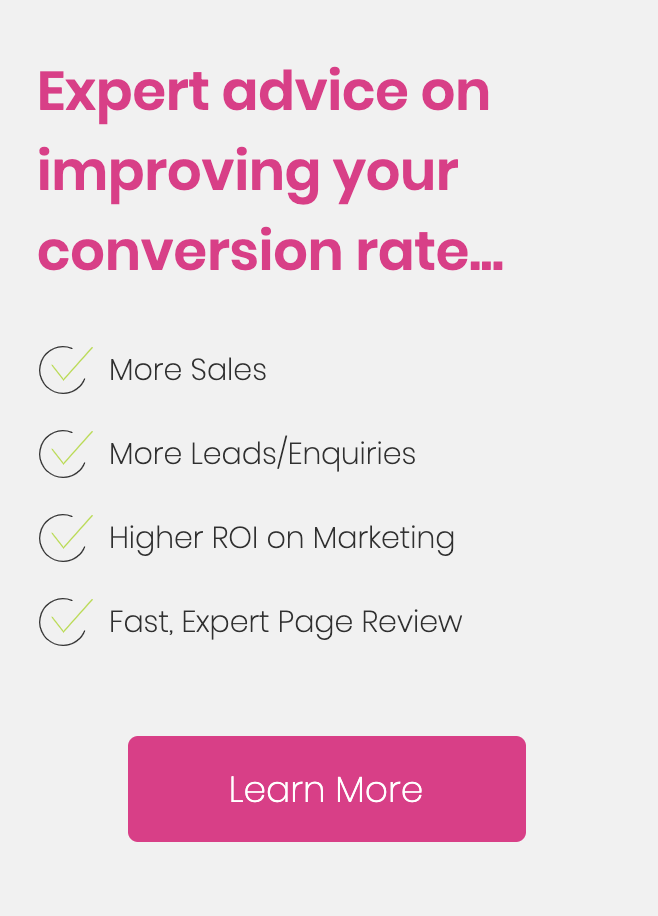 expert advice on improving your conversion rate