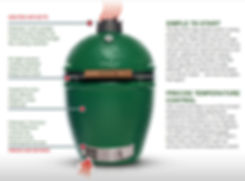 Big Green Egg Features