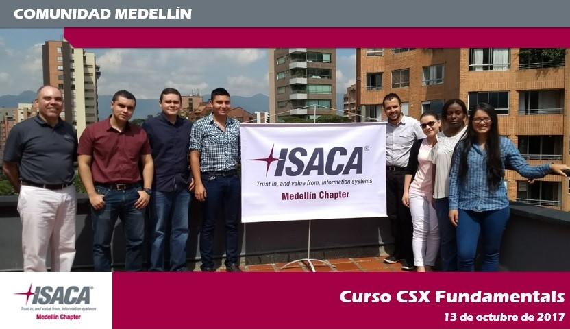 Es un gusto para nuestro Capítulo, compartir con todos ustedes la foto del Curso realizado en la ciudad de Medellín
