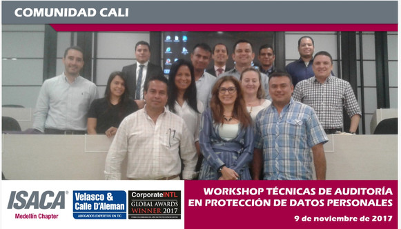 Workshop: Técnicas de auditoria en protección de datos personales