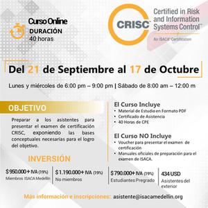 CURSO CRISC ONLINE