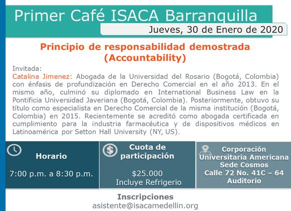 Primer Café ISACA Barranquilla
