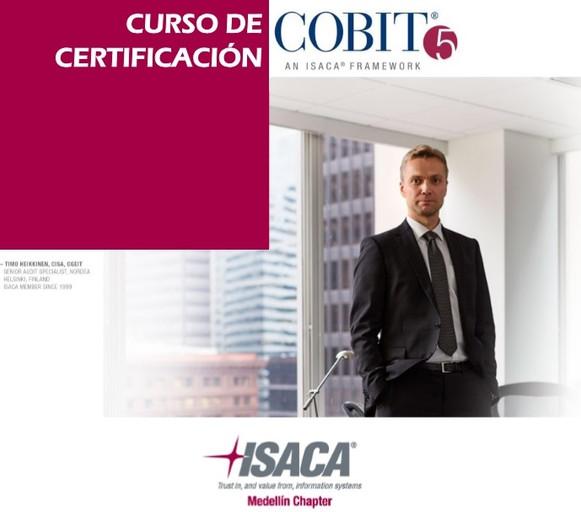Curso de Certificación COBIT5 - Medellín, del 29 de enero al 1 de febrero de 2018