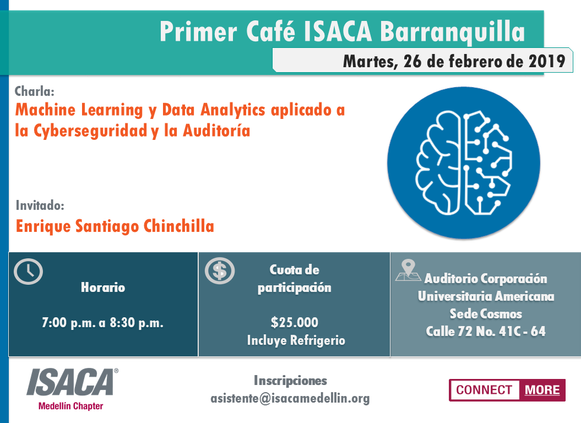 PRIMER CAFÉ ISACA BARRANQUILLA 2019