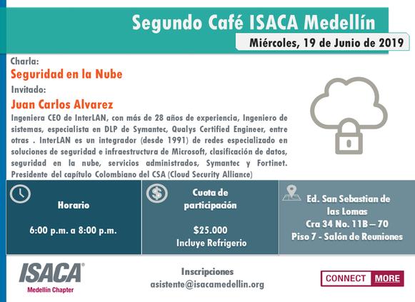 SEGUNDO CAFÉ ISACA MEDELLÍN 2019