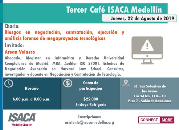 TERCER CAFÉ ISACA MEDELLÍN 2019
