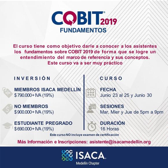 COBIT 2019 FUNDAMENTOS Online - Junio 2020