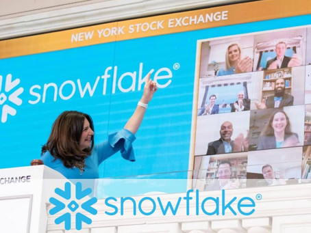 Snowflake Goes Public with Largest US Software IPO Ever