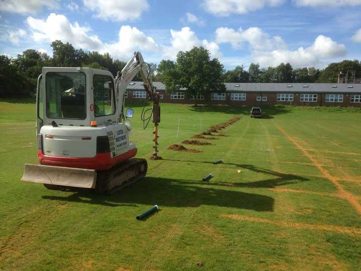 Groundworks at Sevenoaks Rugby Club
