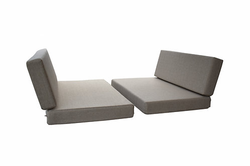 Dinette Covers 4 Piece Set in Oatmeal 4 Inch