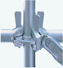 Ringlock scaffolding