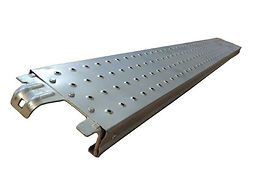 Steel plank walkboard for layher