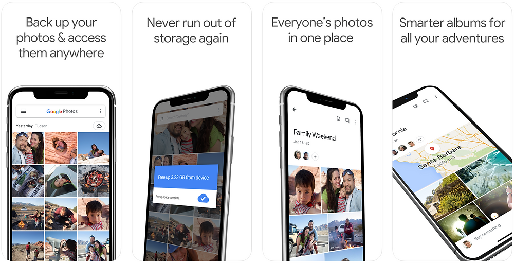 Google Photos - Top 5 apps I use in 2020