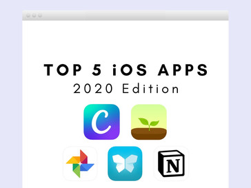 Top 5 iOS apps I use in 2020
