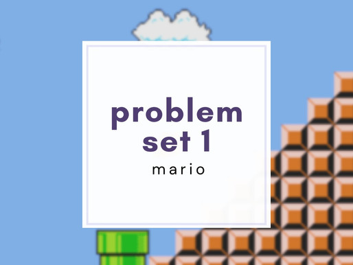 cs50 pset1: Mario (less/more)