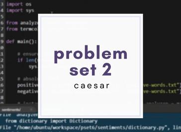 cs50 pset2: Caesar