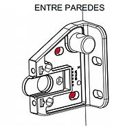 soporte vertcial entre paredes