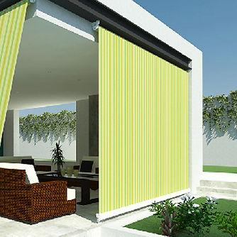 toldo vertical terraza