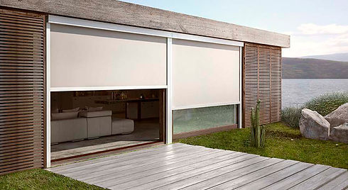 toldo vertical cofre screen