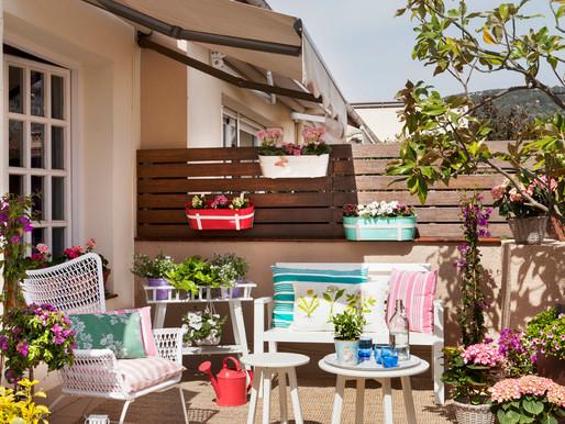 La terraza , una forma de proyectar nuestra vivienda
