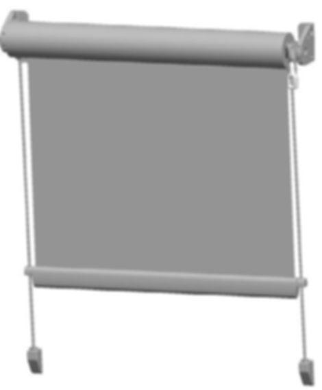 despiece toldo vertical con guias