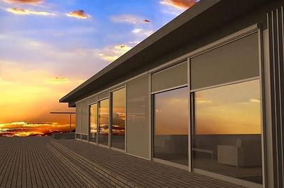 cierre vertical terraza