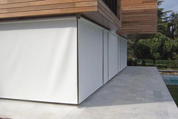 toldo vertical cierre terraza