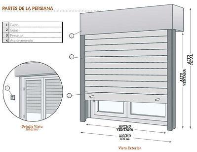 partes-persiana exterior