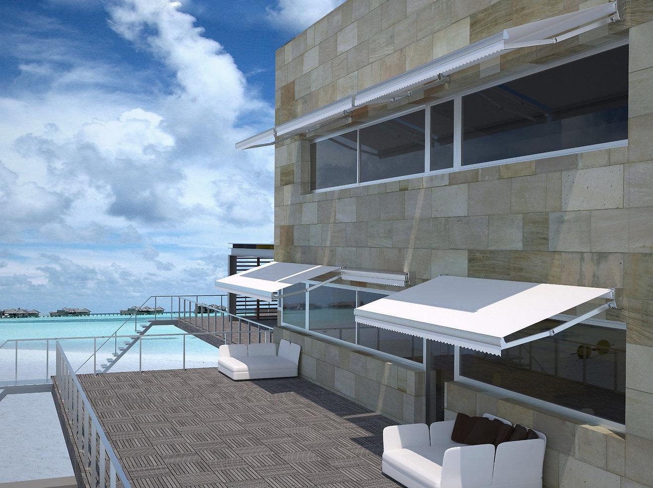 Toldo de terraza retractil Gaviota