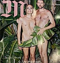 M Magazine Août 2015 | nupié, nupie, sandals, sandales, rubans, handmade