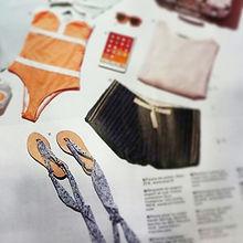 M Magazine Août 2015 | nupié, nupie, sandals, sandales, rubans, handmade, interchangeable, personnalisable