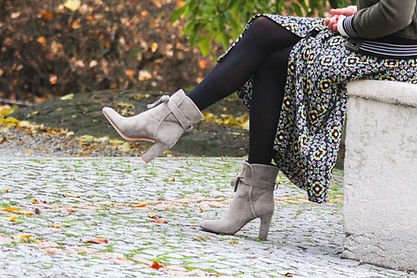 nupié, nupie, taupe boots, winter collection, boots, fashion, ruban