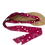 Thumbnail: Sandales avec rubans Bandana fuschia