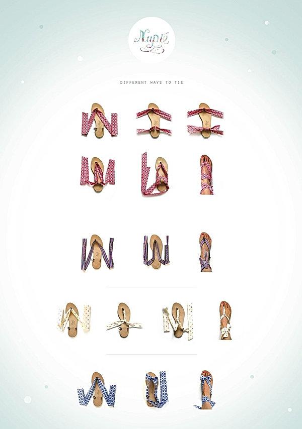 sandales Nupié