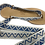 Thumbnail: Sandales avec rubans sifnos bleu