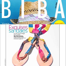 Biba Juin 2018 | eres, nupié, nupie, collaboration, sandals, rubans, silk