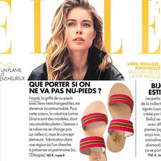 Elle Mai 2018 | nupié, nupie, sandals, slippers, pink, handmade, teressa, pink, konso