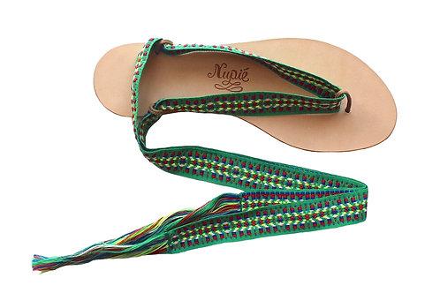 Sandales Nupié Spetses Green