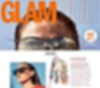 Glamour Juin 2018 | nupié, nupie, rubans, handmade, otomi, white, broderies