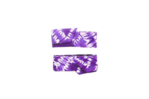 Rubans Tie and Dye Violet