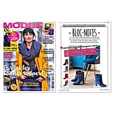 Modes & Travaux Janvier 2019